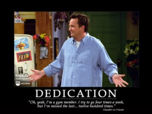 Chandler & the gym